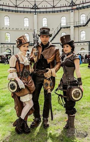 s'habiller steampunk