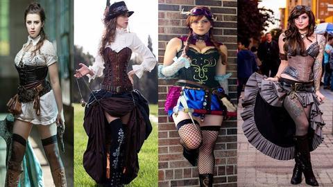 steampunk style vestimentaire femme